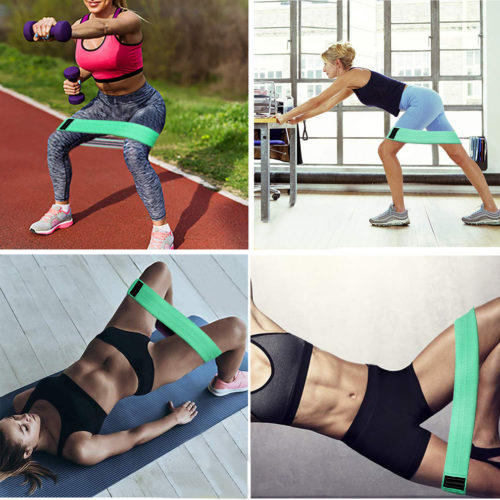 Squat Resistance Bands Fitness Belts (3Pcs.)