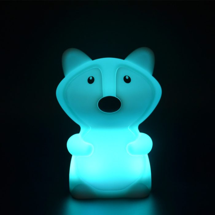 Night Light with Timer Fox Bedside Light