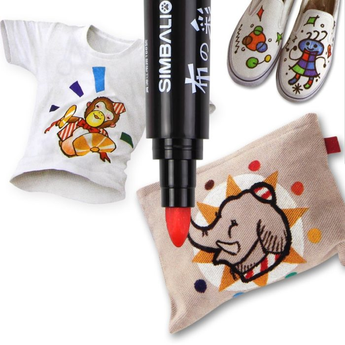 Clothes Markers Fabric Drawing Pens