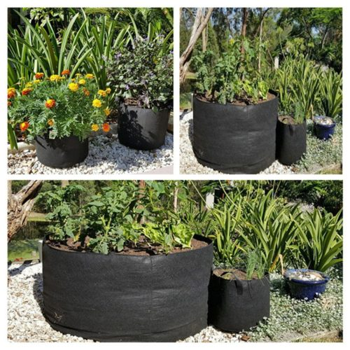 Fabric Grow Bag Felt Plant Container