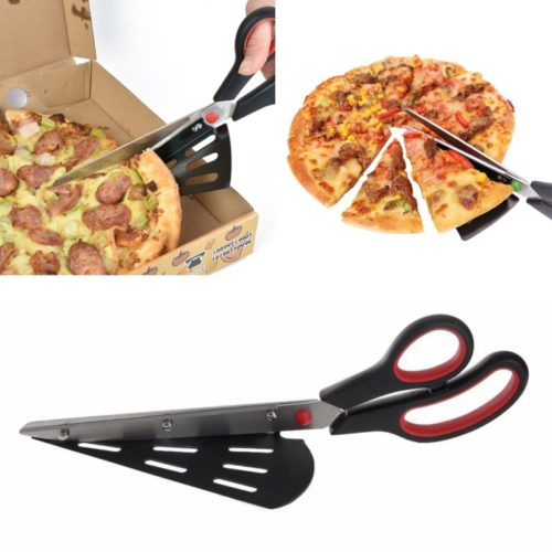 Pizza Scissors 2in1 Slicer and Server