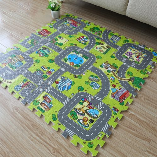 Baby Foam Play Mats (9Pcs)