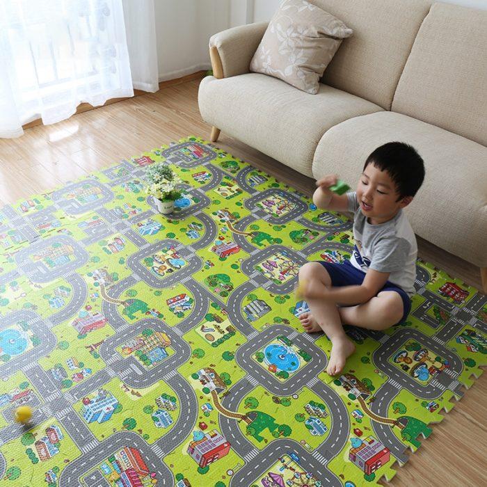 Baby Foam Play Mats (9Pcs)