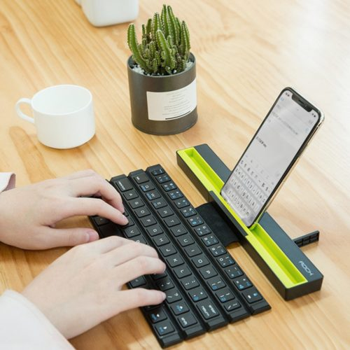 Wireless Folding Bluetooth Keyboard