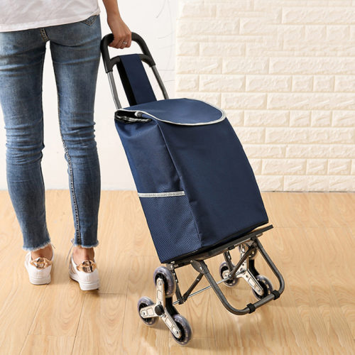 Wheeled Shopping Bag Trolley Cart