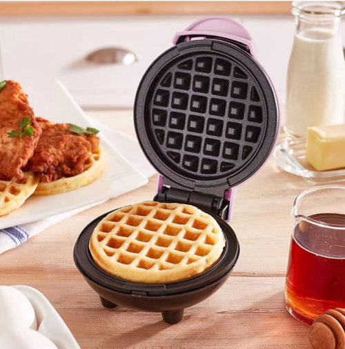 Mini Waffle Maker Electric Device