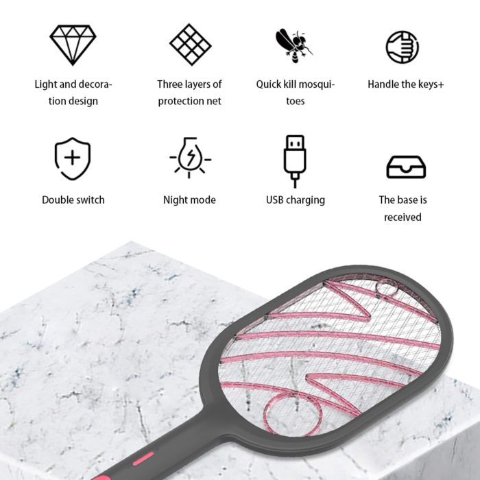 Mosquito Swatter Electric Device