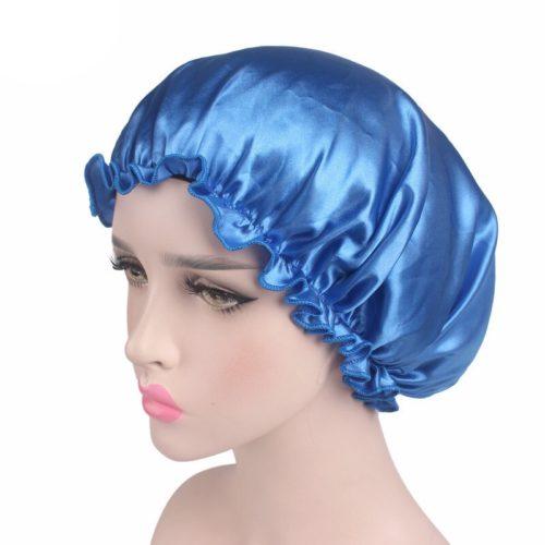 Silk Night Cap Elastic Head Cover