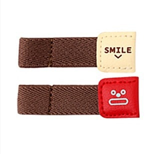 Cable Winders 6PCs Leather Holders