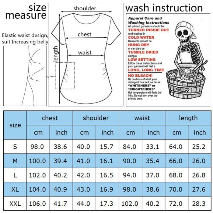 Pregnant T-Shirt Comfortable Maternity Wear