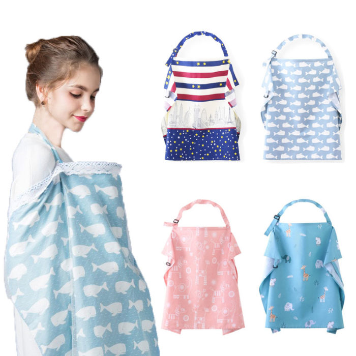 Nursing Apron Baby Feeding Cover