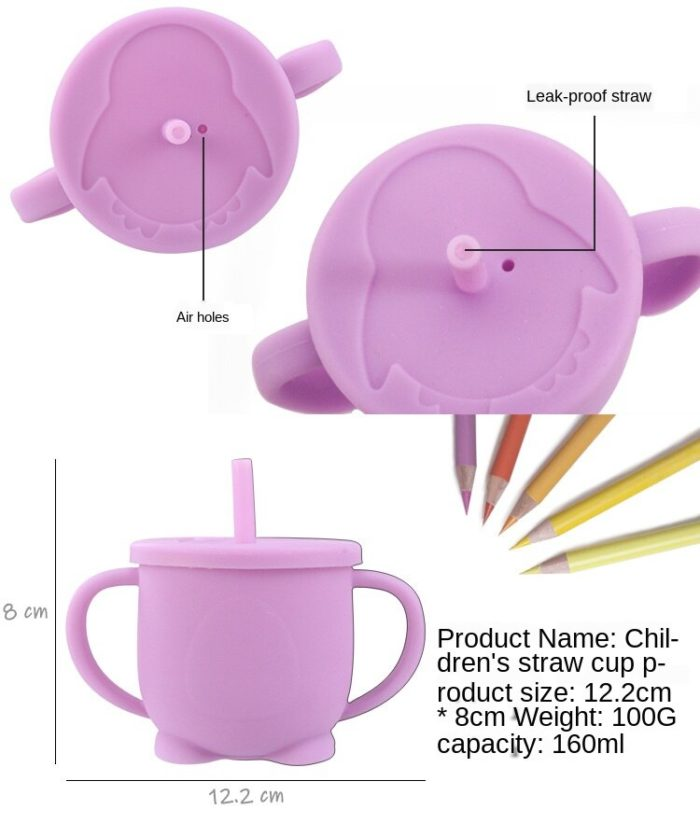 Toddler Drinking Cup Silicone Material