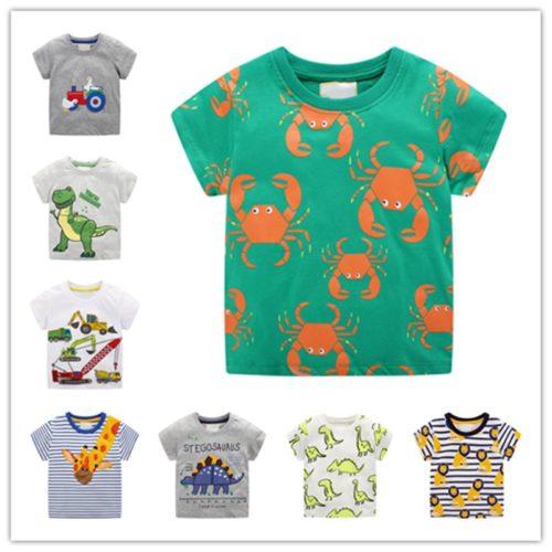 Boys Printed Shirt Cute T-Shirt For Boys
