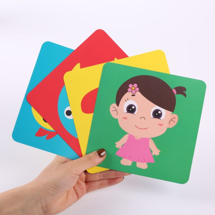 Black and White Baby Cards Flashcard