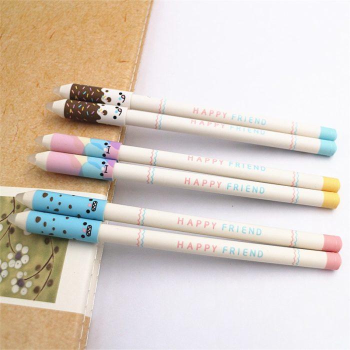 Erasable Gel Pens with Eraser