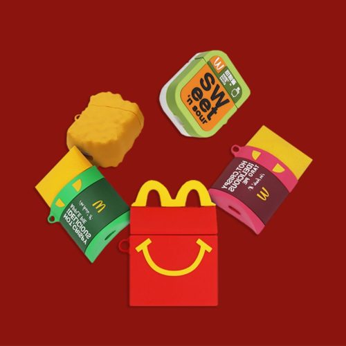 Mcdonald's Airpod Case Cute 3D Design