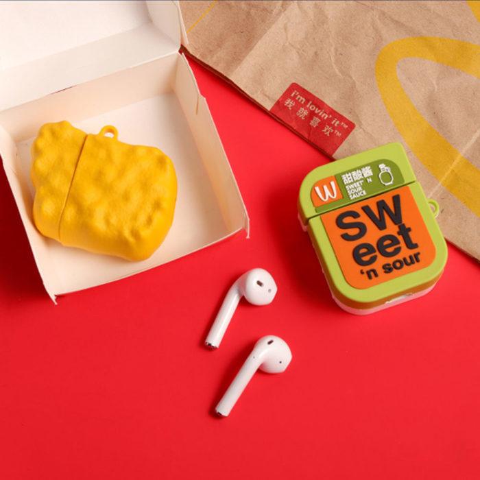 Mcdonald's Airpod Case Cute 3D Design