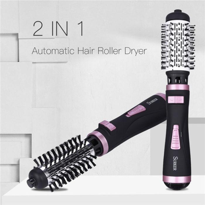 Curling Blow Dryer Electric Hair Brush