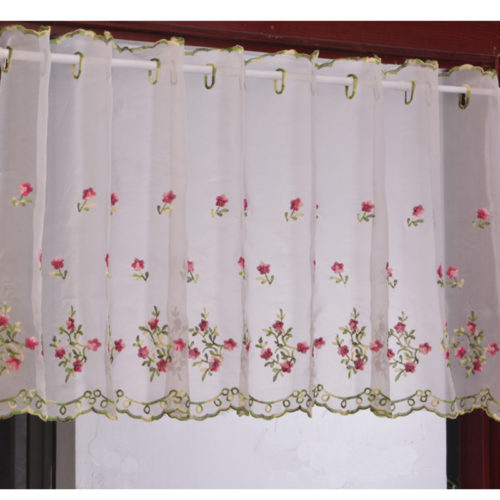 Half Window Curtain Short Drape