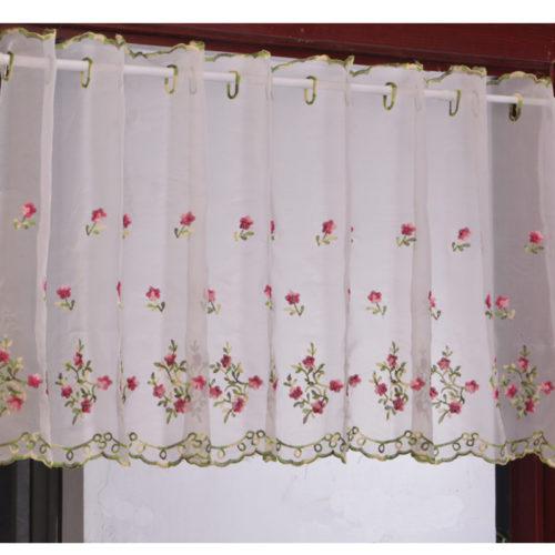 Half Window Curtain Short Drape
