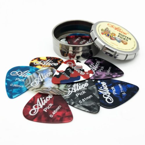 Guitar Plucker with Metal Case (12pcs)