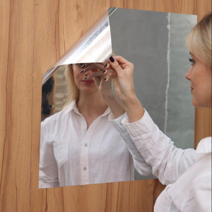 Mirror Wall Sticker Self Adhesive Film
