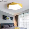 Modern Ceiling Light Fixture Macaron Lamp