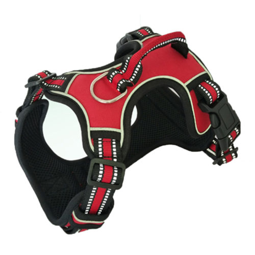 Dog Harness With Handle Soft Padded Strap