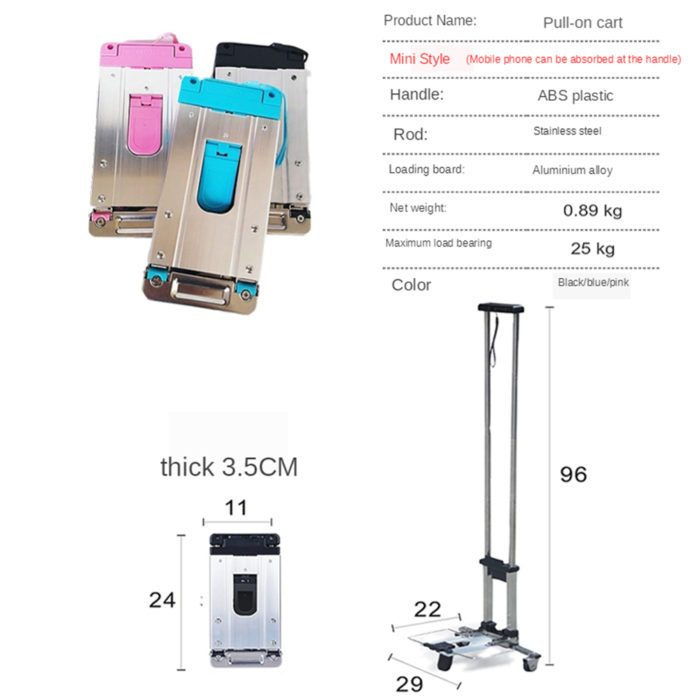 Foldable Cart Multi-Purpose Utility Cart