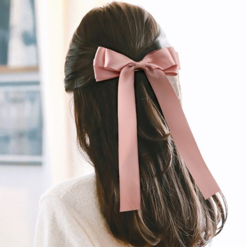 Bow Hair Clip Ladies Hair Accessory