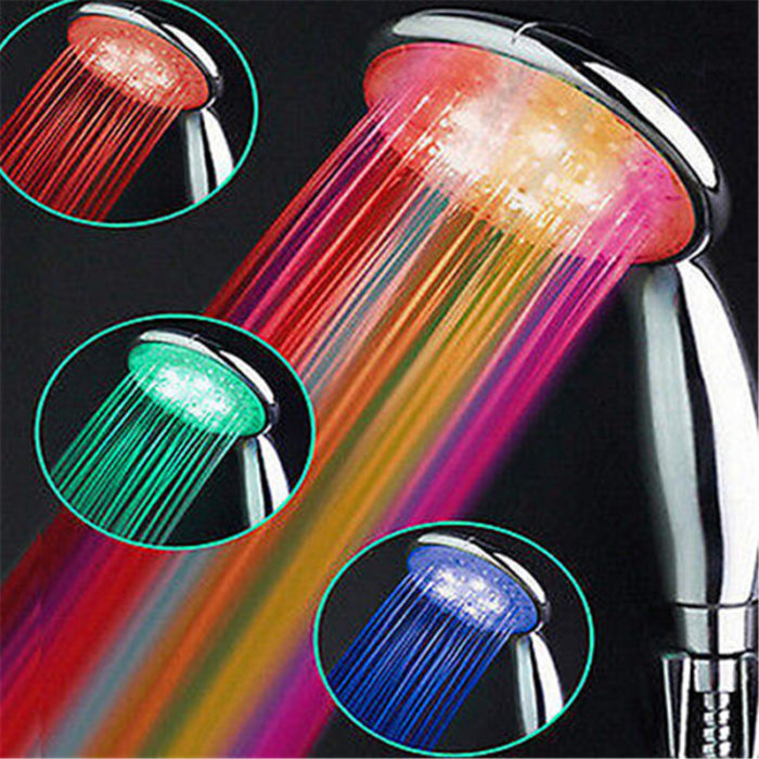 Light Up Shower Head 7 Colors