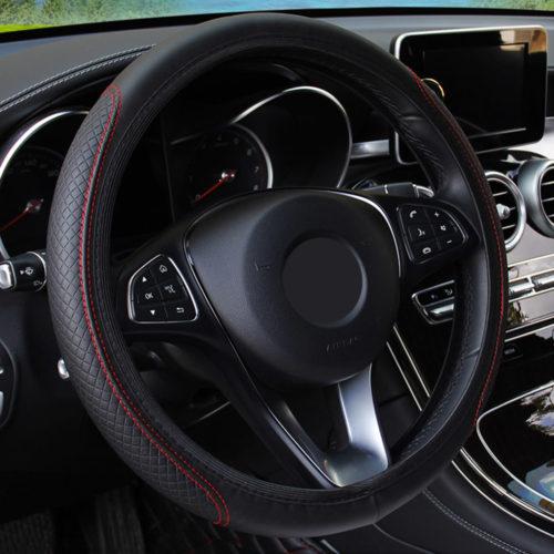 Car Steering Wheel Wrap Cover