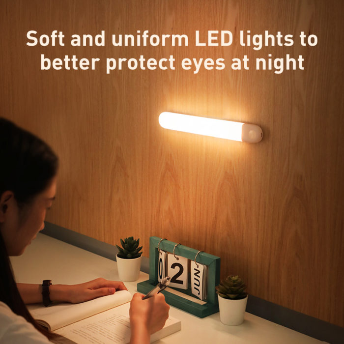 Motion Sensor Closet Light Rechargeable Lamp