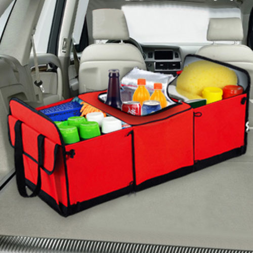 Insulated Trunk Organizer Storage Bags