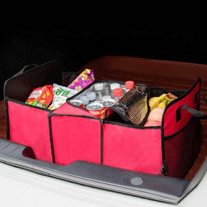 Insulated Trunk Organizer Storage Bags