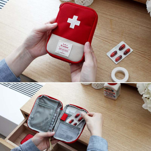 First Aid Pouch Mini Organizer