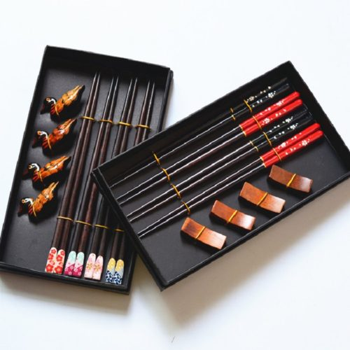 Chopstick Set with Chopstick Holders