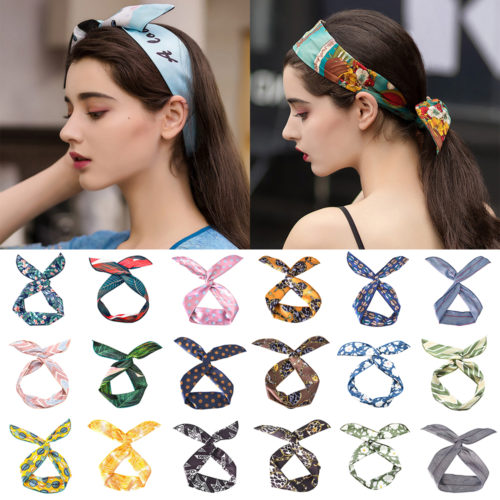 Silk Hairband Hair Accessory