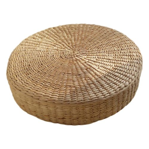 Wicker Cushion Floor Pillow