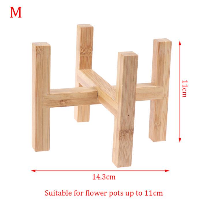 Indoor Plant Stand Wooden Pot Holder