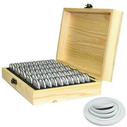 Display Case for Coins 50-Slot Box