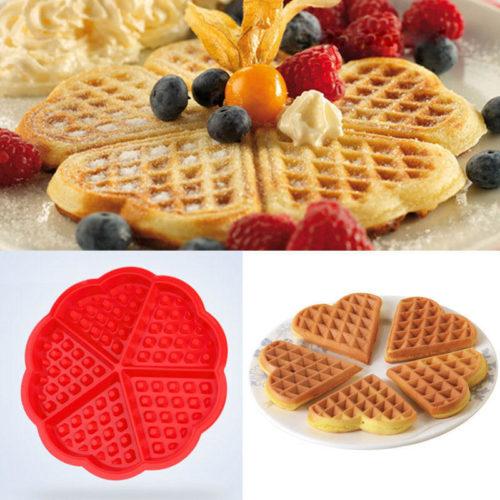 Waffle Mold Food-Grade Silicone