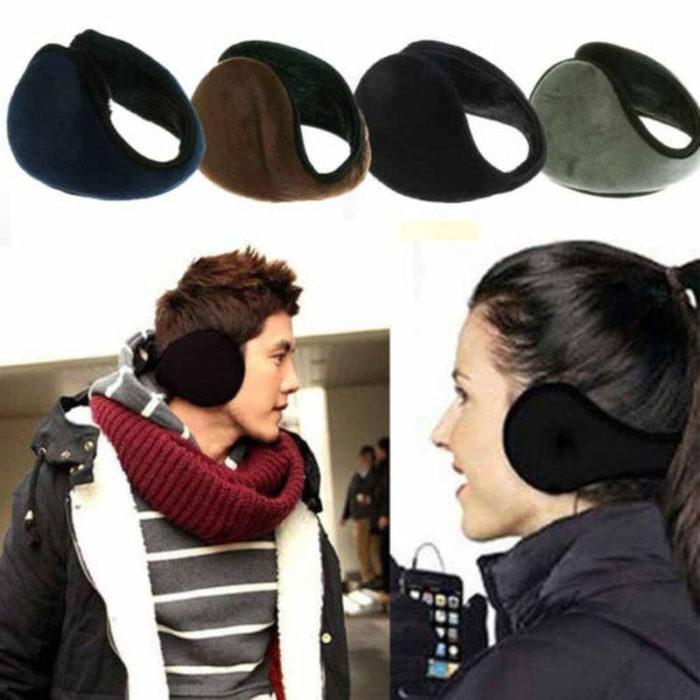 Men Ear Warmers Plush Ear Covers