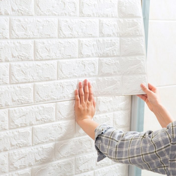 3D Wall Tile Self-Adhesive Decoration