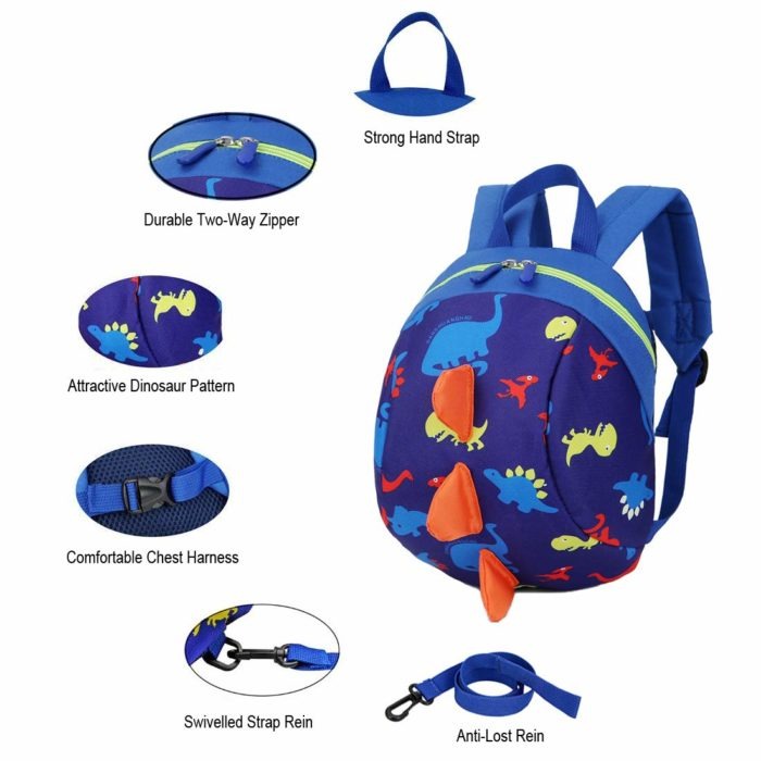 Kids Backpack Leash Safety Harness