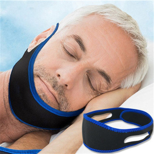 Sleeping Chin Strap Anti-Snoring Aid Belt