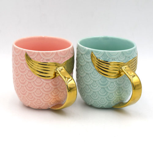 Mermaid Mug Cute Ceramic Cup