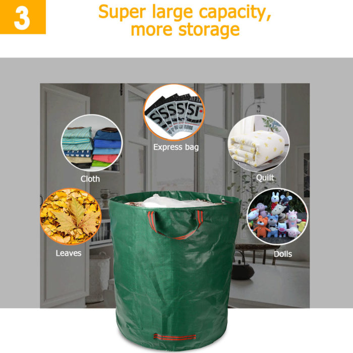 Garden Waste Bag Large Capacity Storage