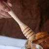 Wooden Honey Dipper Honey Stirrer