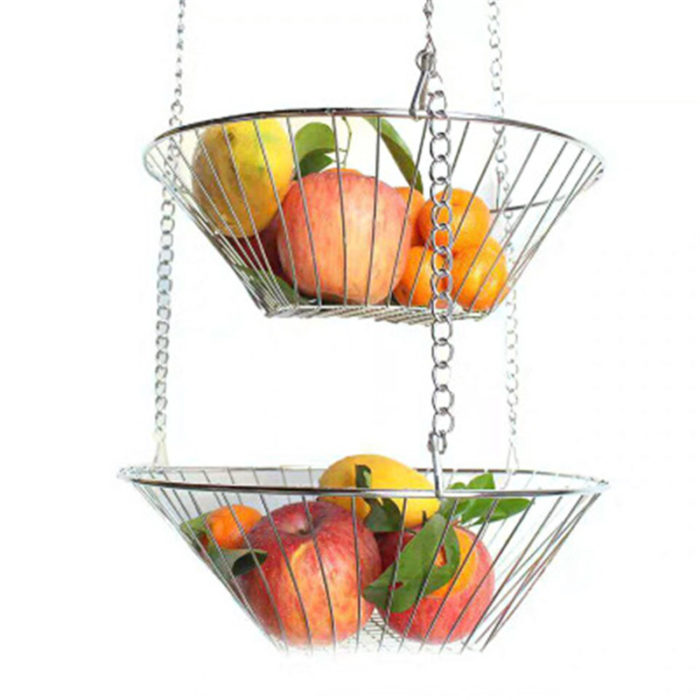 Hanging Vegetable Basket Three-Tier